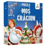 Puzzle educativ. Mos Craciun