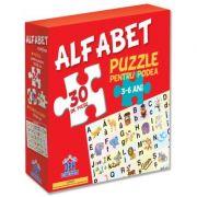 Puzzle pentru podea. Alfabet. 3-6 ani