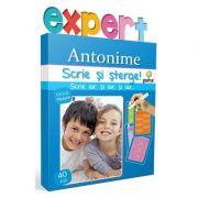 Scrie si sterge! Expert Limba romana - Antonime - Ciclul primar