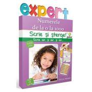 Scrie si sterge! Expert Matematica clasa a II-a - Numerele de la 0 la 1000