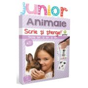 Scrie si sterge! Junior. Animale