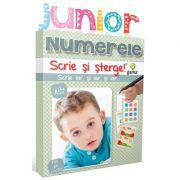 Scrie si sterge! Junior. Numerele
