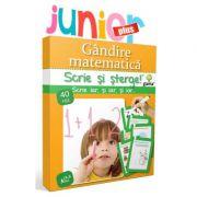 Scrie si sterge! Junior Plus. Gandire matematica