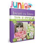 Scrie și sterge! Junior Plus - Jocuri cu litere