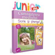 Scrie si Sterge! Junior Plus 3-5 ani. Cunoasterea mediului