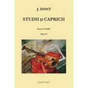 Studii si capricii. Pentru vioara. Opus 35 - Jakob Dont