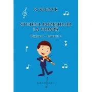 Studiul pozitiilor la vioara. Pozitia I, caietul 2 - R. Klenck