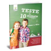 Teste de 10 minute. Clasa III