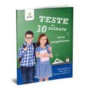 Teste de 10 minute. Clasa pregatitoare