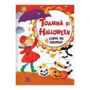 Toamna si Halloween. Carte de colorat