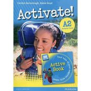 Activate! A2 Students' Book and Active Book Pack - Carolyn Barraclough