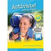 Activate! A2 Teachers Active Teach Multimedia CD - Carolyn Barraclough