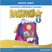 Backpack Gold 1 Active Teach New Edition - Mario Herrera