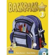 Backpack Gold 3 Student Book and CD-ROM Pack - Mario Herrera