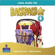 Backpack Gold 4 Class Audio CD New Edition - Mario Herrera