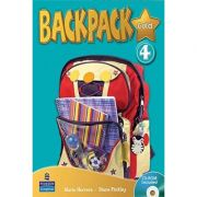 Backpack Gold 4 Student's Book with CD - Diane Pinkley