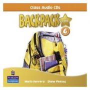 Backpack Gold 6 Class Audio CD New Edition - Mario Herrera
