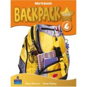Backpack Gold 6 Workbook with Audio CD - Diane Pinkley