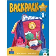 Backpack Gold Level 1 Students' Book with CD-ROM - Diane Pinkley