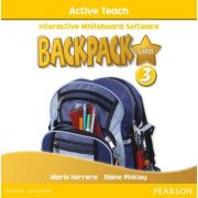 Backpack Gold Level 3 Active Teach CD ROM - Diane Pinkley