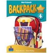 Backpack Gold Level 4 Workbook with Audio CD - Diane Pinkley