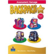 Backpack Gold Starter to Level 3 Assessment Book with Multi-ROM - Diane Pinkley