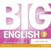 Big English 3 Class CD - Mario Herrera
