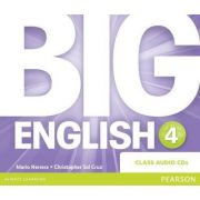 Big English 4 Class CD - Mario Herrera