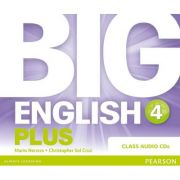 Big English Plus 4 Class CD - Mario Herrera