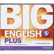 Big English Plus 5 Class CD - Mario Herrera