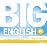 Big English Plus 6 Class CD - Mario Herrera