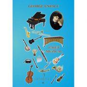 Caiet muzical mediu - George Enescu