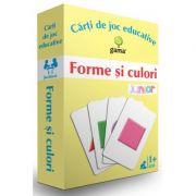Carti de joc educative - Forme si culori