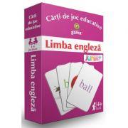 Carti de joc educative. Limba engleza