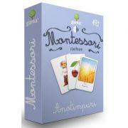 Carti de joc Montessori. Anotimpuri