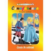 Cenusareasa - carte de colorat (colectia Sa coloram cu Nicol)