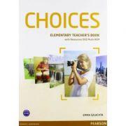 Choices Elementary Teacher's Book and DVD Multi-ROM Pack - Emma Szlachta
