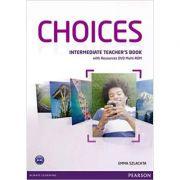 Choices Intermediate Teacher's Book and Multi-ROM Pack - Emma Szlachta