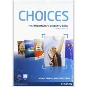 Choices Pre-Intermediate Students' Book and PIN Code Pack Paperback - Michael Harris