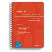 Codul civil – actualizat la 1 februarie 2019 - CLAUDIU DRAGUSIN