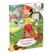 Colorez povestea. Pinocchio