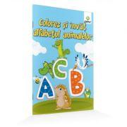 Colorez si invat alfabetul animalelor