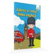 Colorez si invat cuvinte in limba engleza