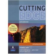 Cutting Edge. Original! Advanced Cutting Edge Advanced Students Book and CD-Rom Pack - Sarah Cunningham