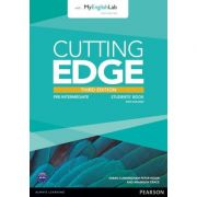 Cutting Edge 3rd Edition Pre-Intermediate Students' Book with DVD and MyEnglishLab Pack - Sarah Cunningham