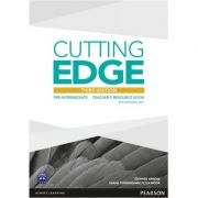 Cutting Edge 3rd Edition Pre-Intermediate Teacher's Book and Teacher's Resource Disk Pack - Sarah Cunningham