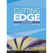 Cutting Edge 3rd Edition Starter Students' Book and DVD Pack - Sarah Cunningham