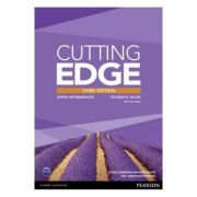 Cutting Edge 3rd Edition Upper Intermediate Students' Book with DVD and MyEnglishLab Pack - Sarah Cunningham