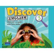 Discover English Global 3 Class CDs - Jayne Wildman
