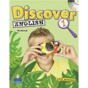 Discover English Level 1 Activity Book with Multi-ROM - Kate Wakeman